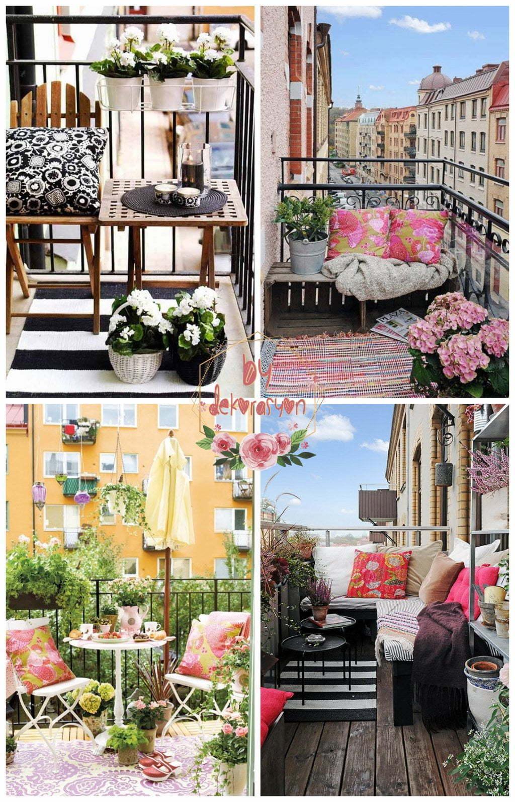 Bahçe Mobilyaları ve Balkon Dekorasyonu