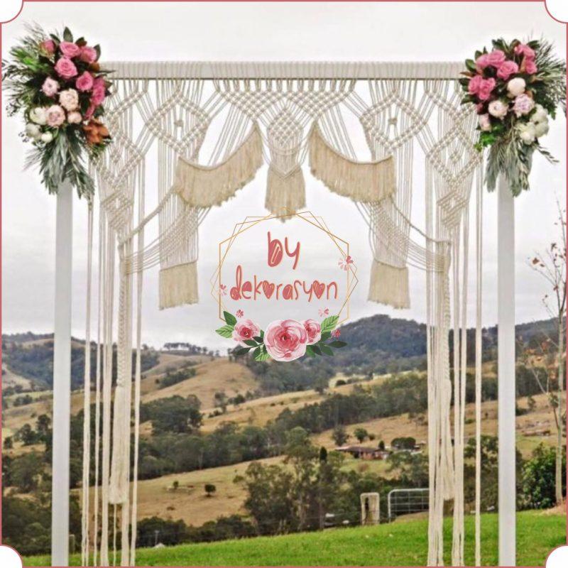 Düğün Dekorasyonu Tak Modeli