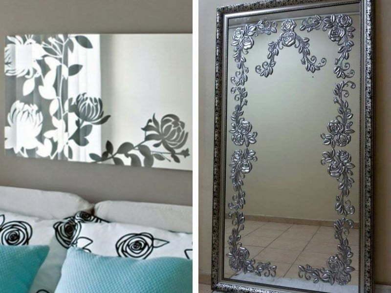 Aynalarınızı Desenlerle Süsleyin