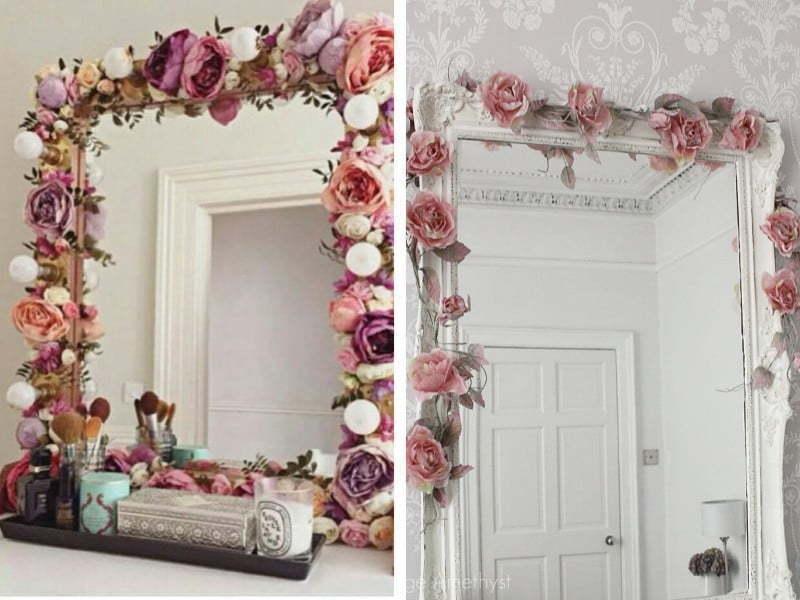Aynalar ile dekorasyonun püf noktaları;