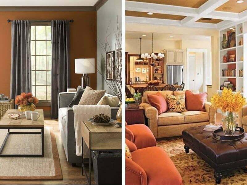 Evinizi sıcak gösteren renkler