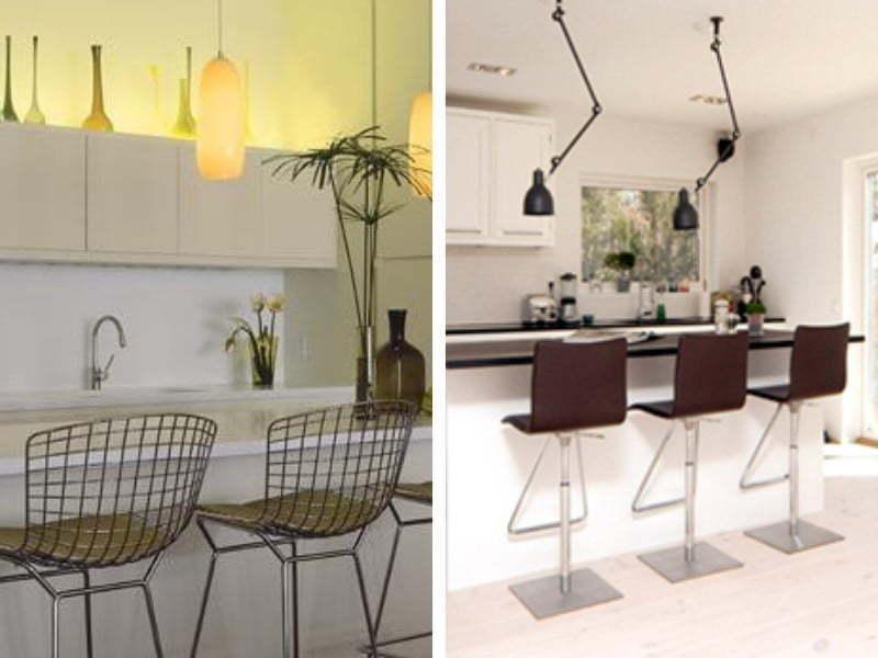 Mutfağınızın modeline göre farklı oturma şekilleri düzenleyebilirsiniz.