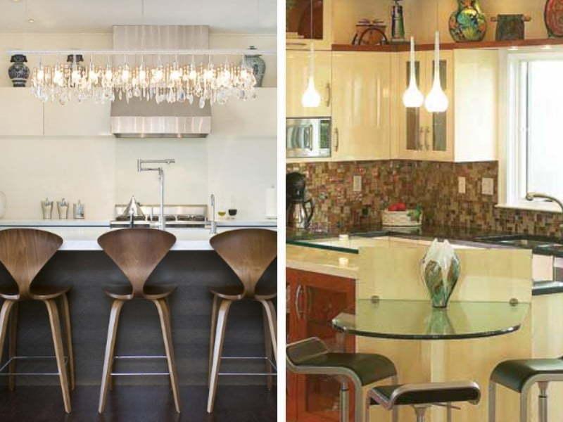 Bar masasını ada mutfak tarzında kullanarak mutfağınızla oturma bölümünü birbirinden ayırmanızda şık duracaktır.