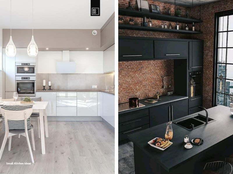 Mutfak dekorasyonu için önemli noktalar;