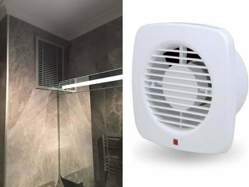 tuvalet ve banyo havalandırması