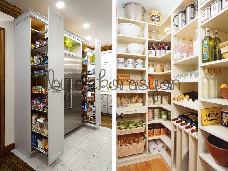 Kiler düzeni mutfağın düzeninin bel kemiğidir.