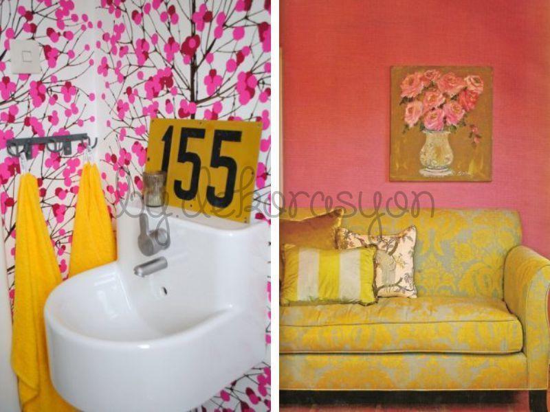 Ev dekorasyonunda temel alınacak renkler seçilirken uzun uzun düşünmek gerekir.