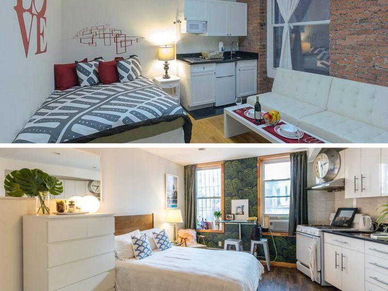Evinizde küçük bir ardiye, ikinci bir tuvalet ya da ikinci bir balkon varsa bu alanları kapatıp mini bir giyim odası yapabilirsiniz.