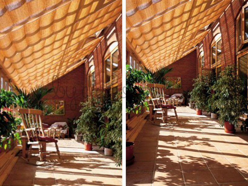 balkon, teras ya da bahçeniz için en uygun olan gölgelik