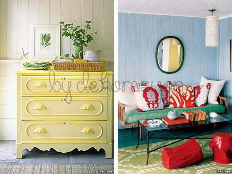 Evinizin dikkat çekici olmasını sağlamanın tek yolu neon renkler değil.