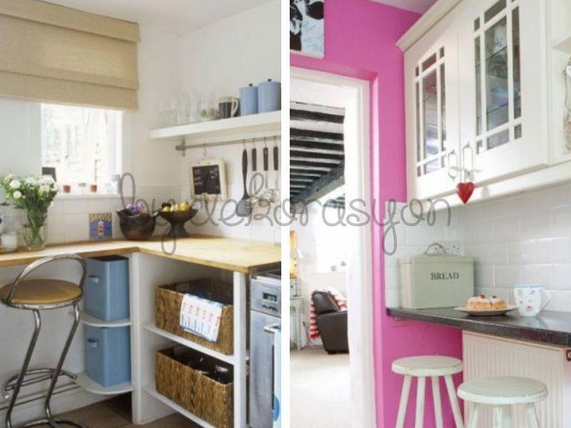 Evde büyük olması gereken odalardan biri hiç kuşkusuz ki mutfak.