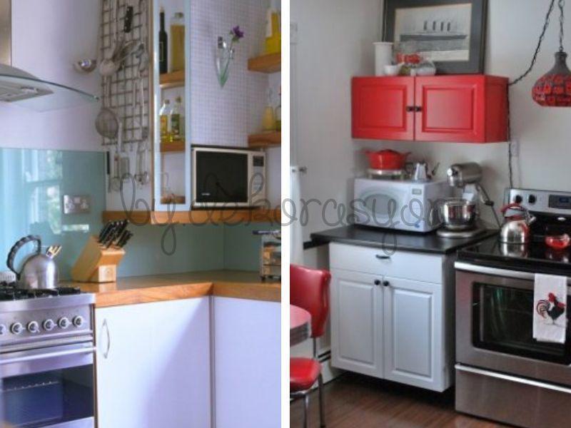 Küçük Mutfak Modelleri İçin Önemli Bir Diğer Nokta da Aydınlatma