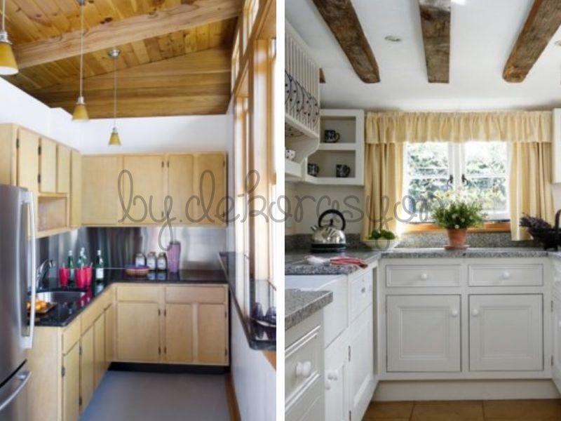 küçük mutfak dekorasyonu için dikkat edilecek ilk nokta