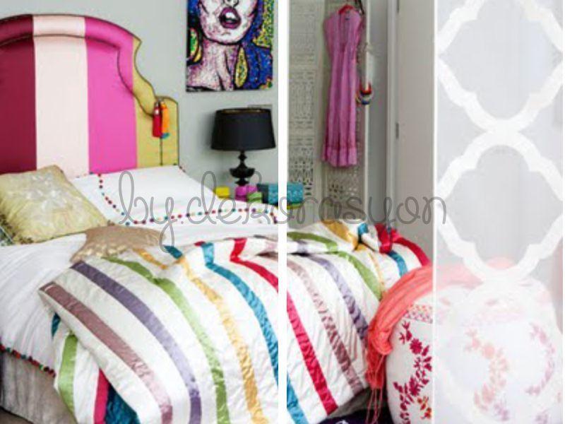 Romantik yatak odası takımları...