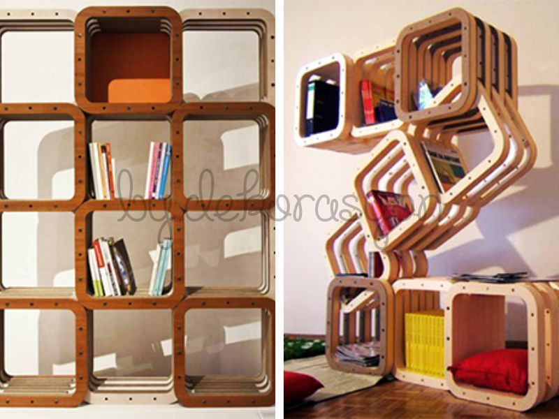 İlginç kitaplık tasarımları