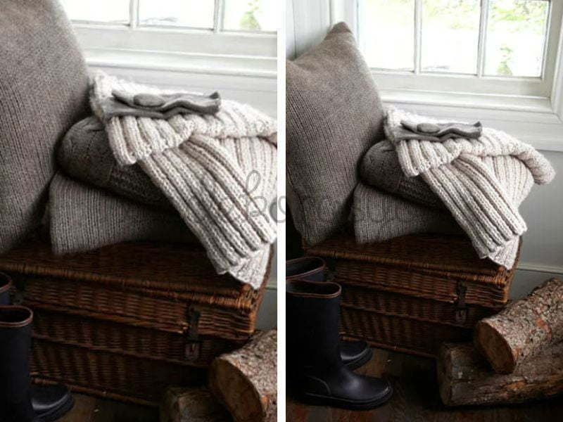 Örgü, battaniye, şal sıcak şeylerin tam zamanı!