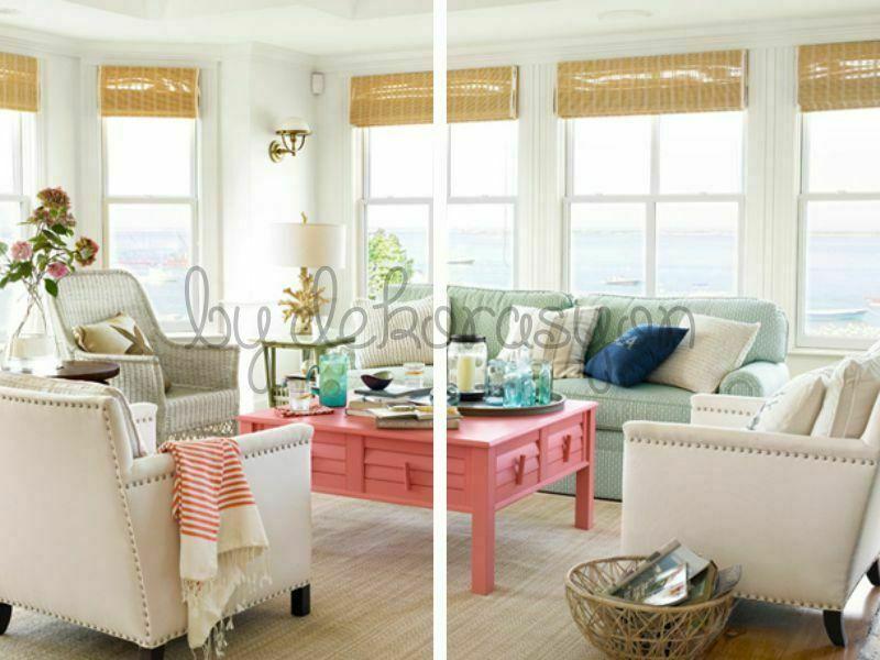 Yazın ihtiyacınız olan ferahlığı evinizin renklerine de yansıtın.