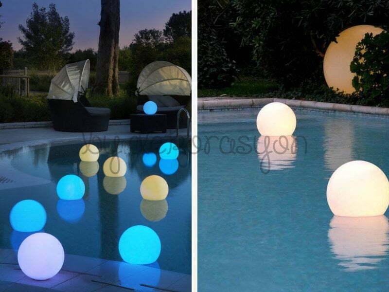 Havuz ışıklarında enerji tasarruflu LED ışıklar