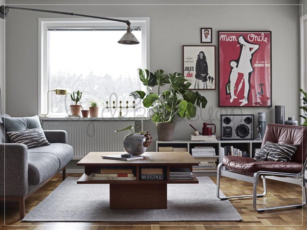 Yerleşime öncelikle büyük mobilyalardan başlayın