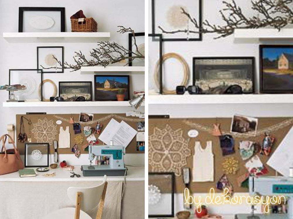 Bu odanızı sanatsal açıdan da, işlevsel açıdan da zenginleştirecektir.